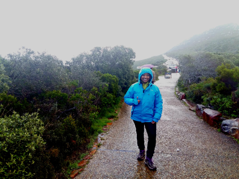 rain hiking Cape Point