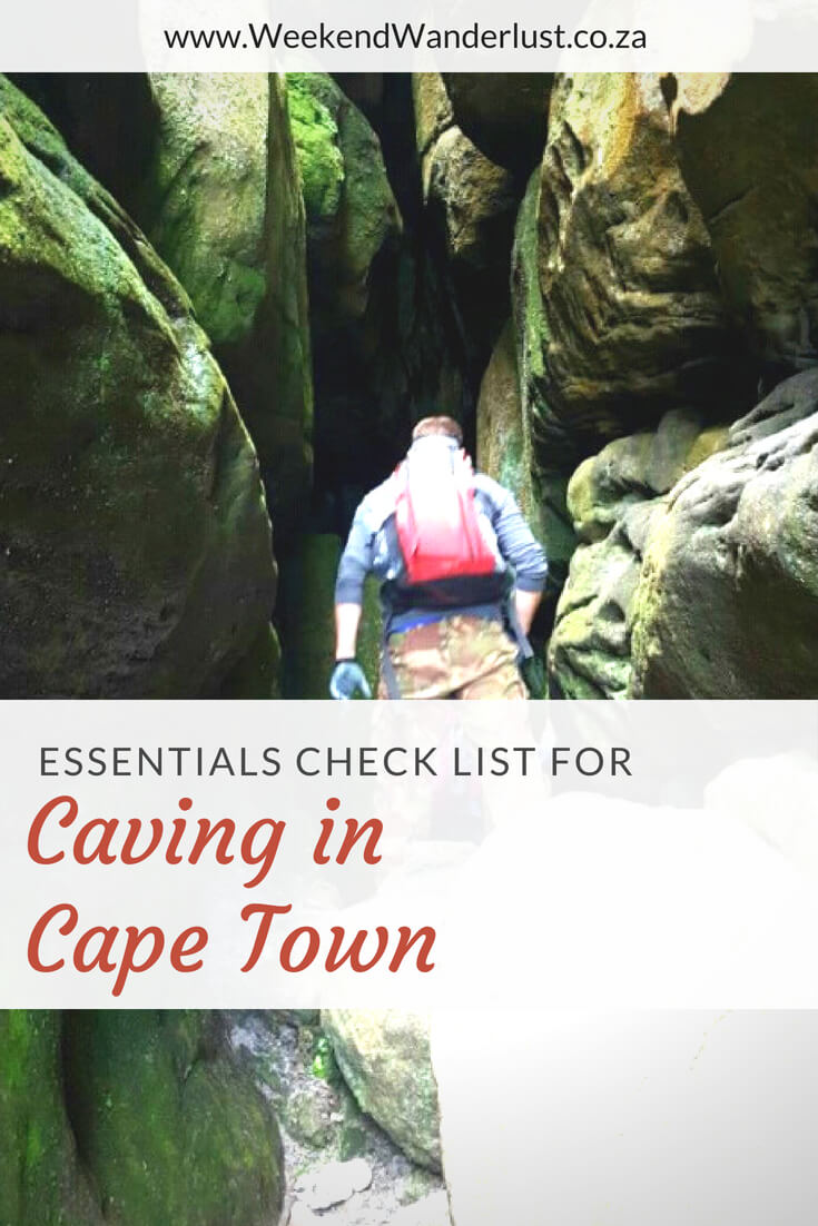 Caving in Cape Town is an amazing experience, but it is also very dangerous. Make sure you come prepared with this essentials check list, and always go with professionals. ..