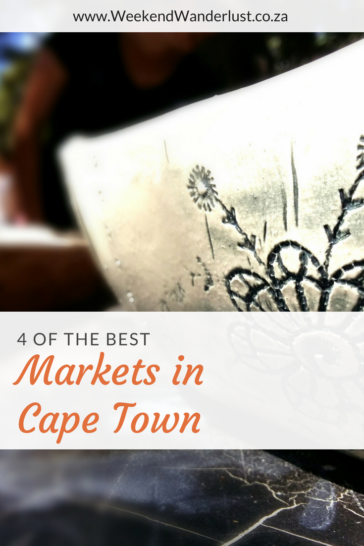 Cape Town has no shortage of weekly markets, but if you are looking for an amazing experience with live music, delicious food and beautiful things to buy then these are the 4 markets you should be looking at...