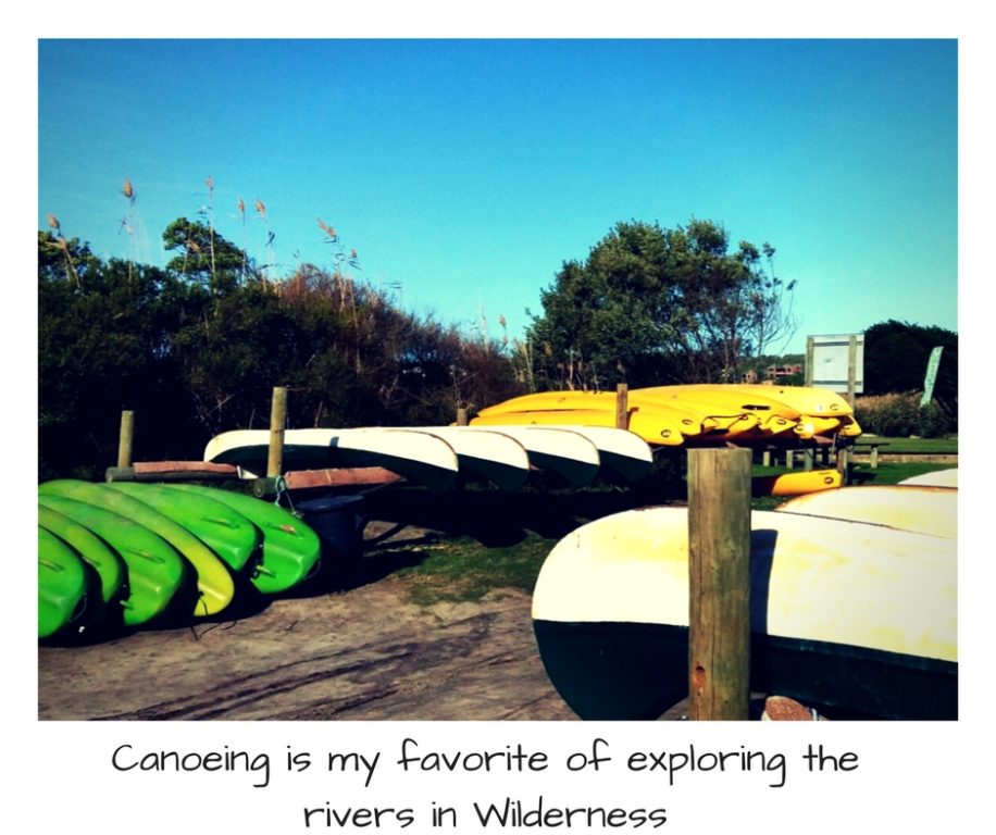 canoeing the Garden Route South Africa