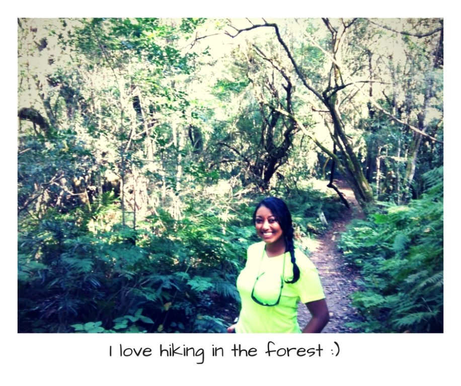 hiking garden route