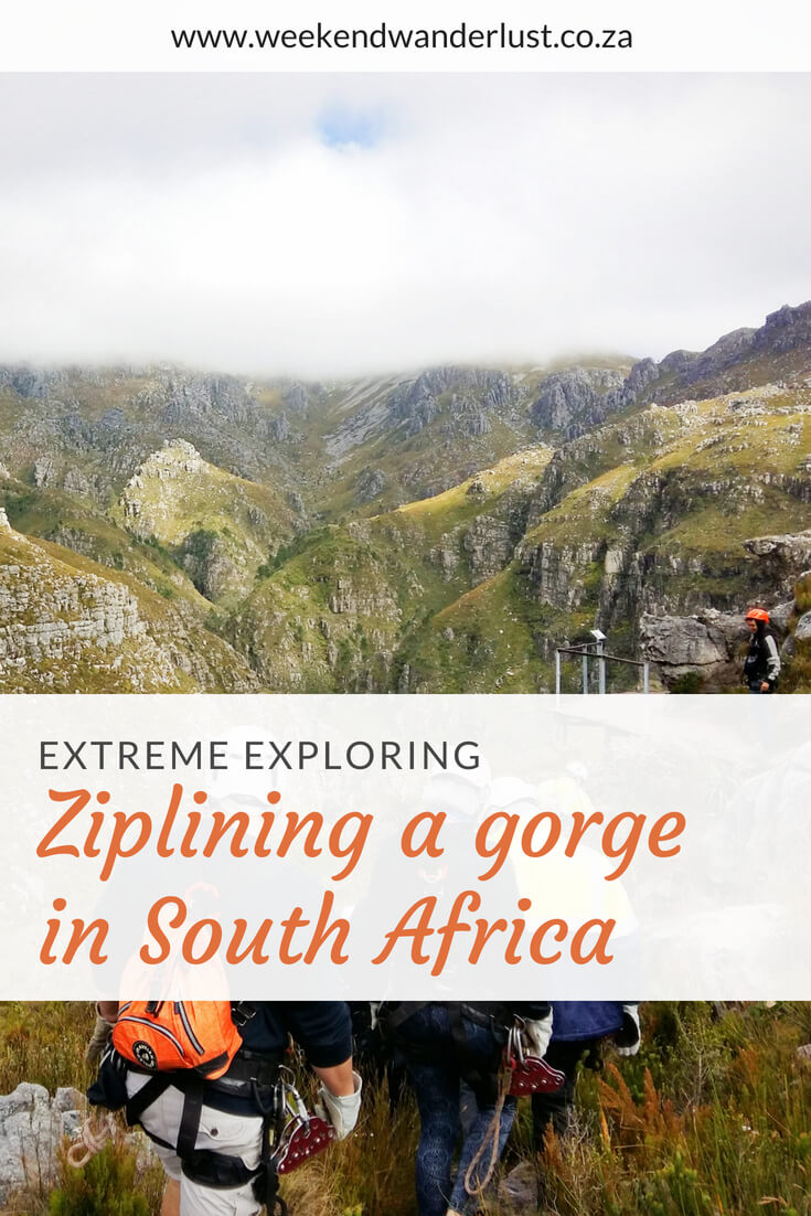 If you want a trill with none of the danger then you should really give ziplining a try. I had a blast Zip-lining in Hottentots holland in South Africa...