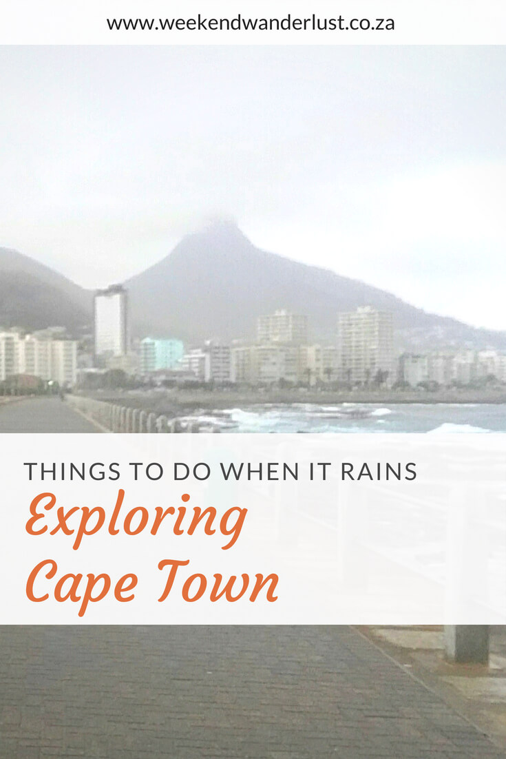 Most people visit Cape Town in summer, but even then you are not guaranteed a sunny day. These are some of my favourite things to do in Cape Town when it rains...