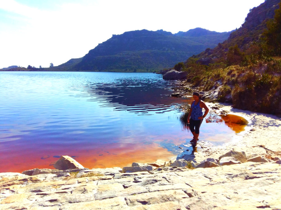 table mountain's red beach