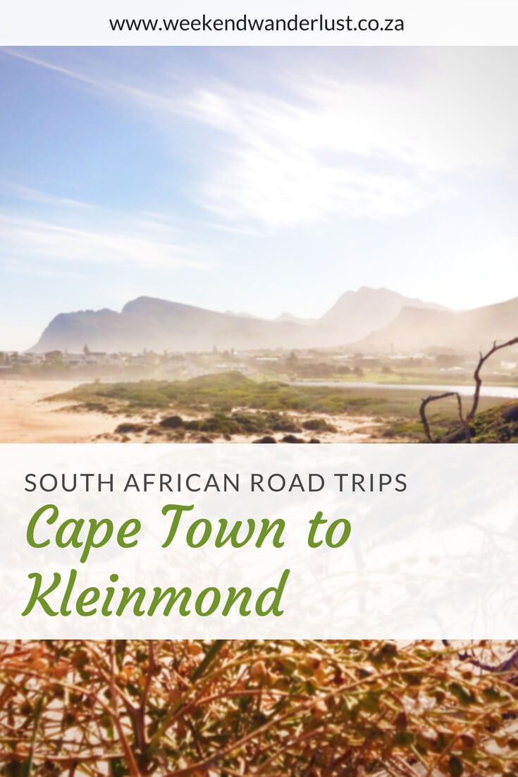 The drive from Cape Town to Kleinmond is incredibly rewarding with its fantastic views of mountains, oceans and beaches. This is a must see if you are visiting Cape Town any time soon...