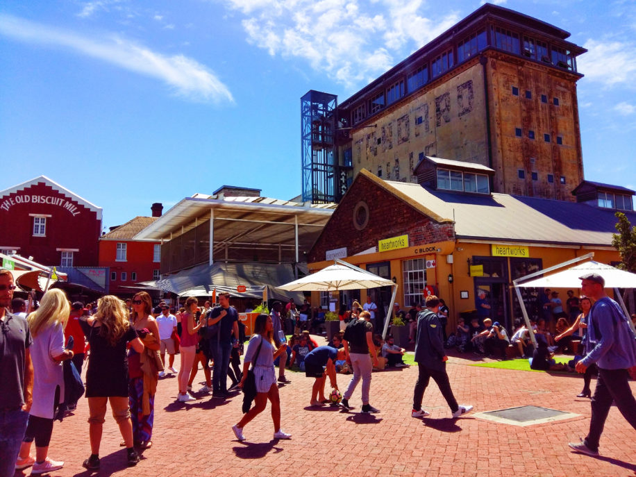 The Old Biscuit Mill Market newr the heart of Cape Town is a perfect spot to chill and enjoy a vibey market full of quality goods and food.