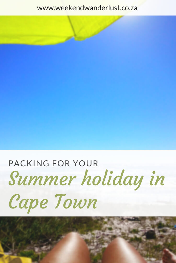 Summer is the best time of year to visit Cape Town, especially if you love beaches. Make sure you don't forget to pack these essentials for your perfect summer holiday in Cape Town...