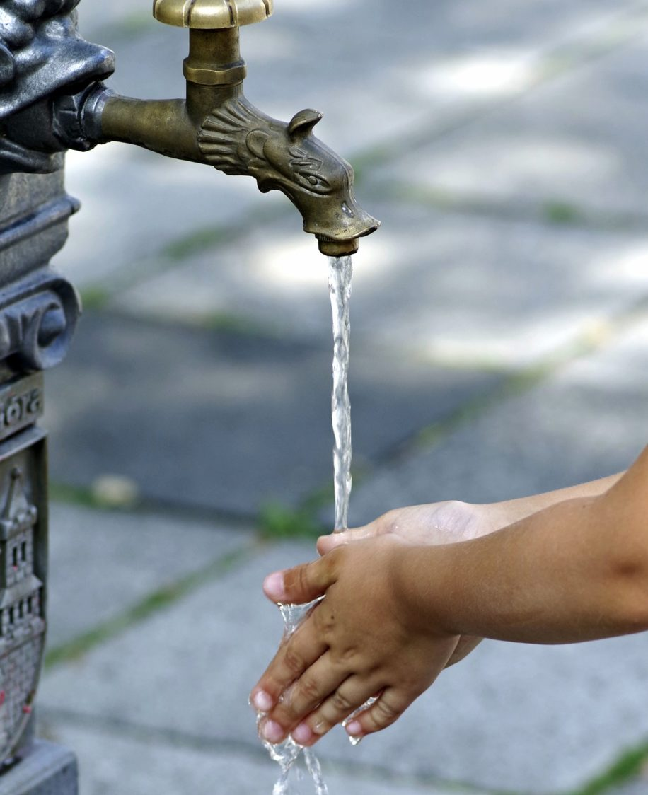 Cape Town's water crisis water saving tips washing hands