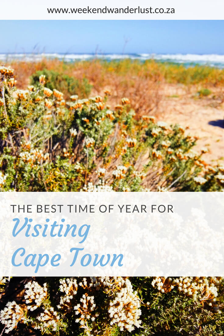 If you have no issue braving the cold then Cape Town can be a year round destination for you. But if you have certain activities in mind then you might want to consider which season you visit Cape Town. Picking an off peak season means you will save money and still get to do everything you want to do.