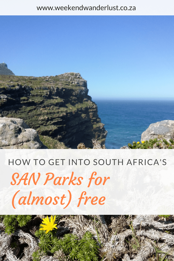 if you tend to visit the South African National Parks often then investing in a 'wild card' from SAN Parks will be a real budget saver, especially if you have a big family.